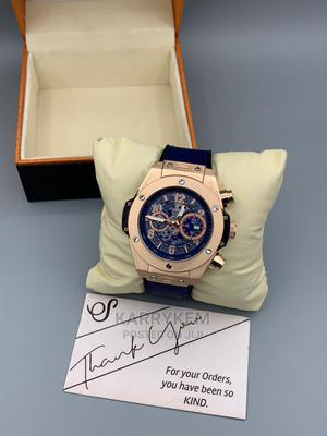 Quality Leather Hublot Wristwatch   Watches for sale in Oyo State, Ibadan