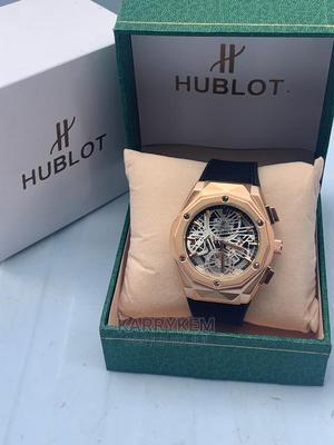 Hublot Leather Wristwatch | Watches for sale in Oyo State, Ibadan