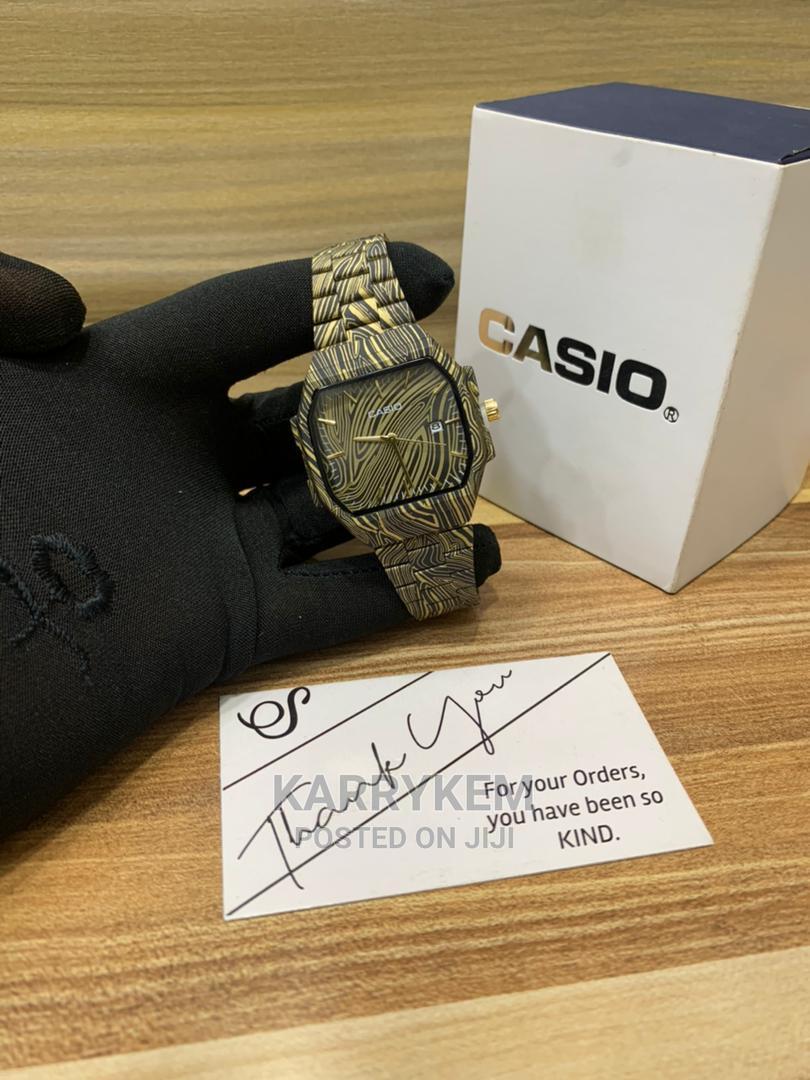 Analog Casio Wood Wristwatch | Watches for sale in Ibadan, Oyo State, Nigeria