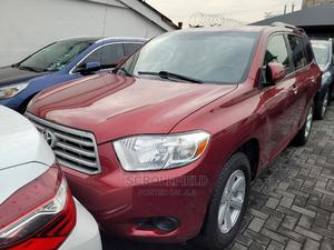 Toyota Highlander 2009 Red   Cars for sale in Lagos State, Surulere