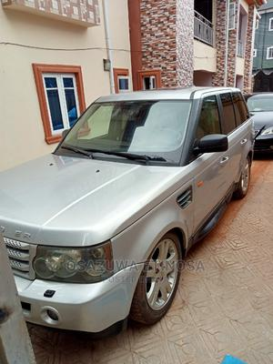 Land Rover Range Rover Sport 2008 4.2 V8 SC Silver | Cars for sale in Delta State, Oshimili South