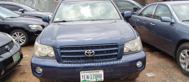 Archive: Toyota Highlander 2004 V6 FWD Blue