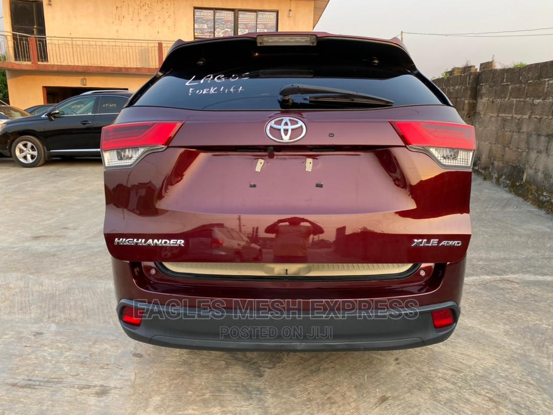 Toyota Highlander 2017 Red | Cars for sale in Gbagada, Lagos State, Nigeria
