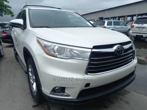 Toyota Highlander 2014 White   Cars for sale in Lagos State, Apapa