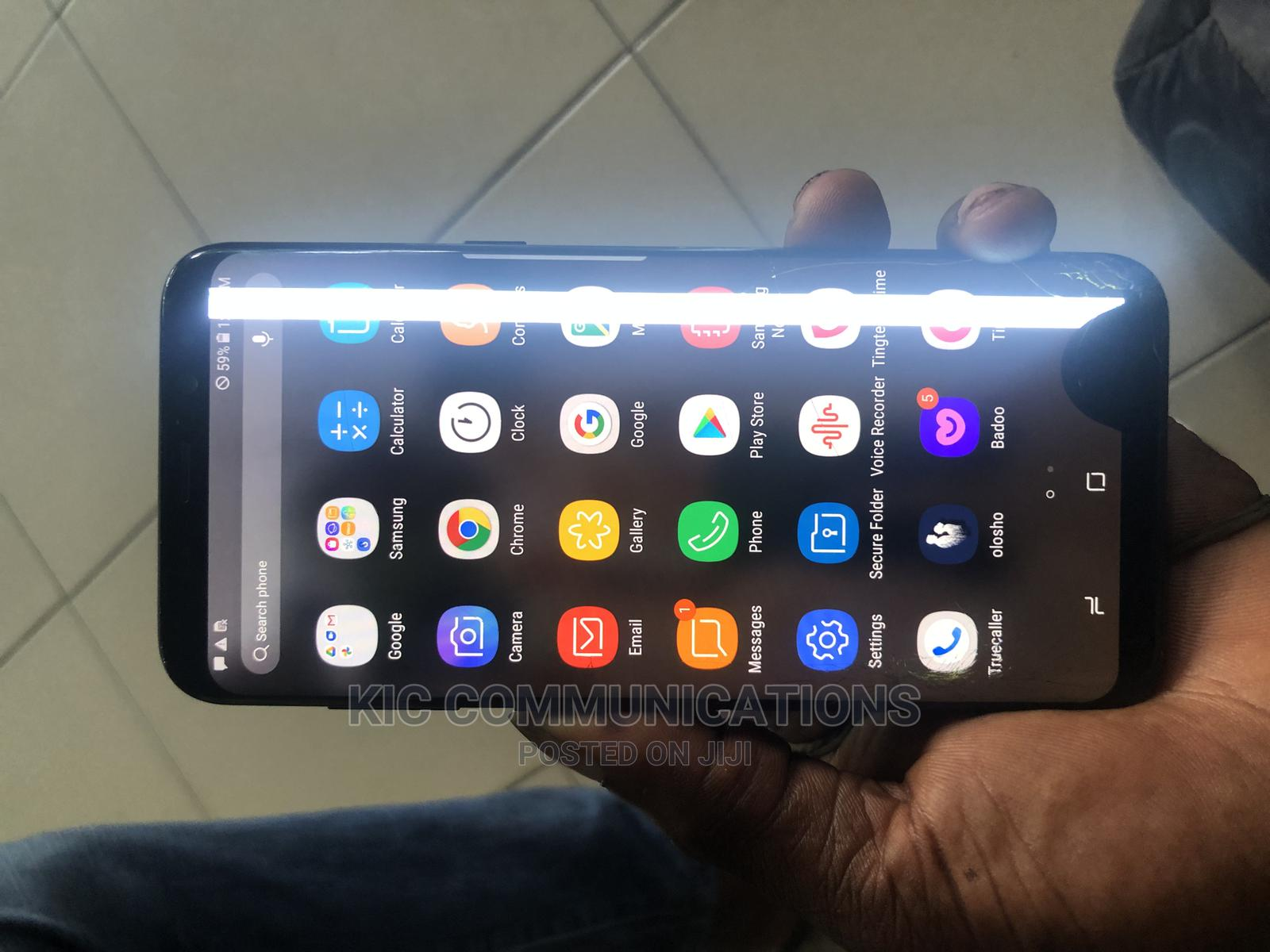 Samsung Galaxy S8 Plus 64 GB Black | Mobile Phones for sale in Port-Harcourt, Rivers State, Nigeria