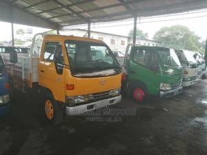 Toyota Dyna 200 Long Yellow/Working AC | Trucks & Trailers for sale in Lagos State, Apapa