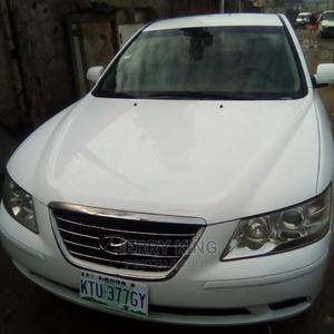 Hyundai Sonata 2009 2.4 SE White | Cars for sale in Lagos State, Ojo