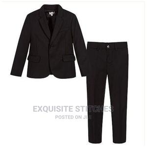 Boys 2 Piece Suit -Black | Children's Clothing for sale in Lagos State, Ojodu