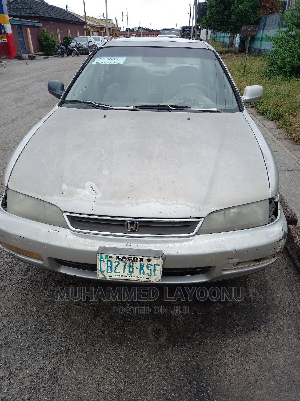 Archive: Honda Accord 1996 Silver