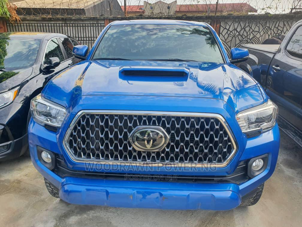 Archive: Toyota Tacoma 2018 TRD Sport Blue