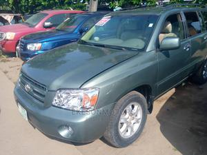Toyota Highlander 2006 Limited V6 4x4 Green | Cars for sale in Lagos State, Amuwo-Odofin