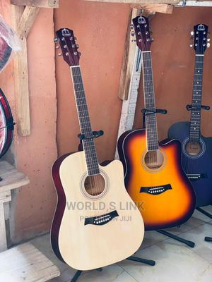 41 Acoustic Box Guitar | Musical Instruments & Gear for sale in Lagos State, Ojo
