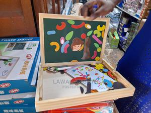 Style Wooden Magnetic Puzzle Double-Sided Drawing Board   Toys for sale in Lagos State, Lagos Island (Eko)