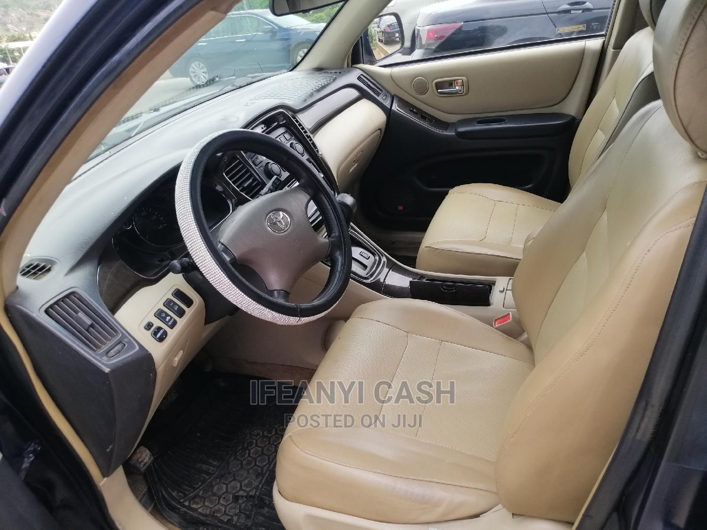 Toyota Highlander 2003 Blue | Cars for sale in Gwarinpa, Abuja (FCT) State, Nigeria