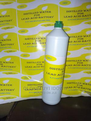 Distilled Water for Inverter Lead Acid or Tubular Batteries | Manufacturing Materials for sale in Lagos State, Yaba
