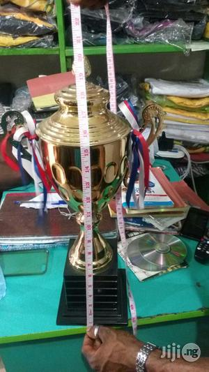 Big Gold Trophy Length Size 20 Inches | Arts & Crafts for sale in Lagos State, Ikeja