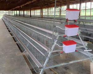 Poultry Imported Cold Dip Galvanized Poultry Cage | Farm Machinery & Equipment for sale in Lagos State, Alimosho