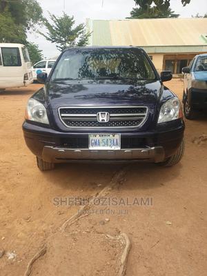 Honda Pilot 2005 EX-L 4x4 (3.5L 6cyl 5A) Blue | Cars for sale in Abuja (FCT) State, Garki 1