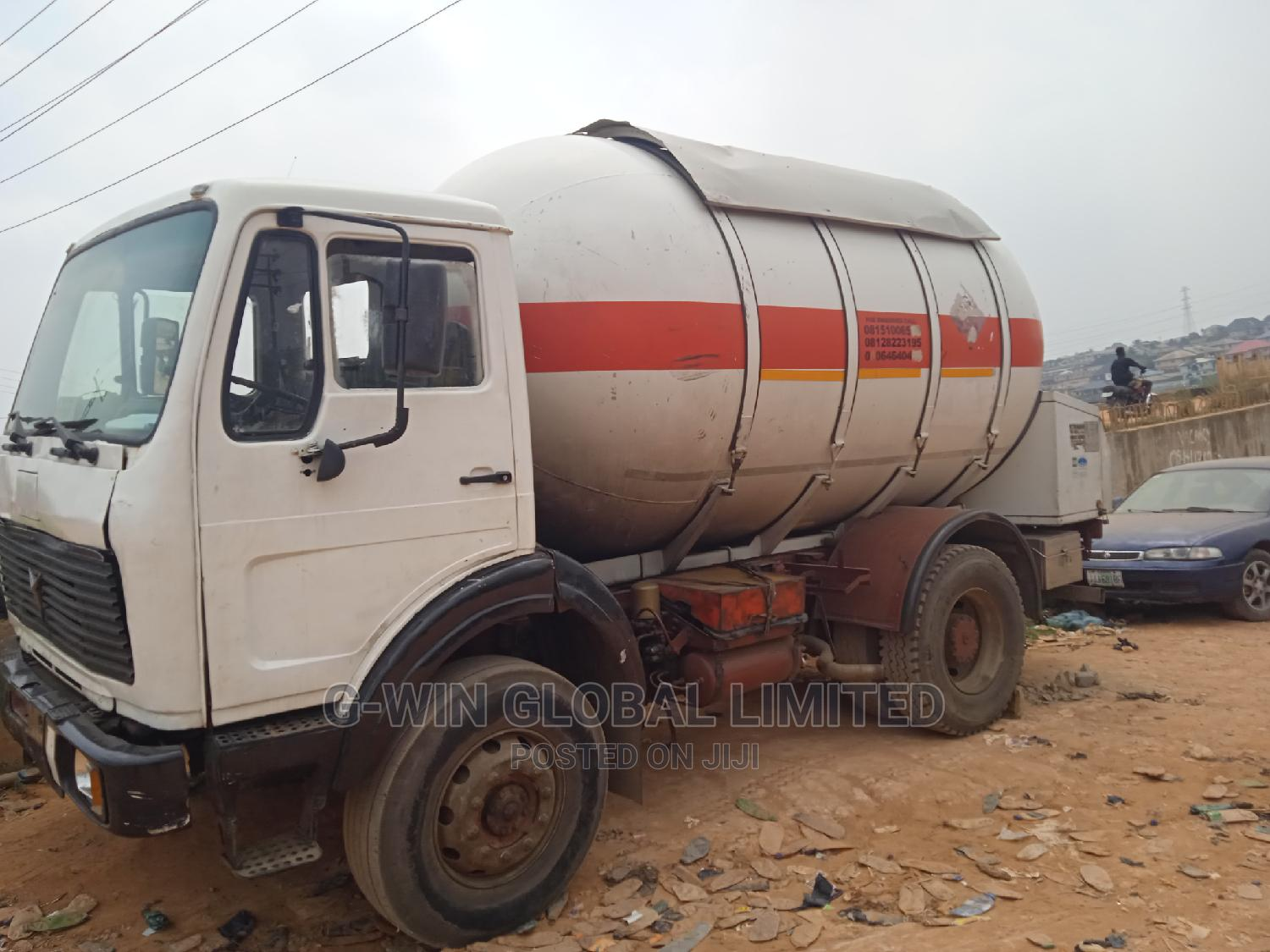 Archive: A Gas Truck Tanker