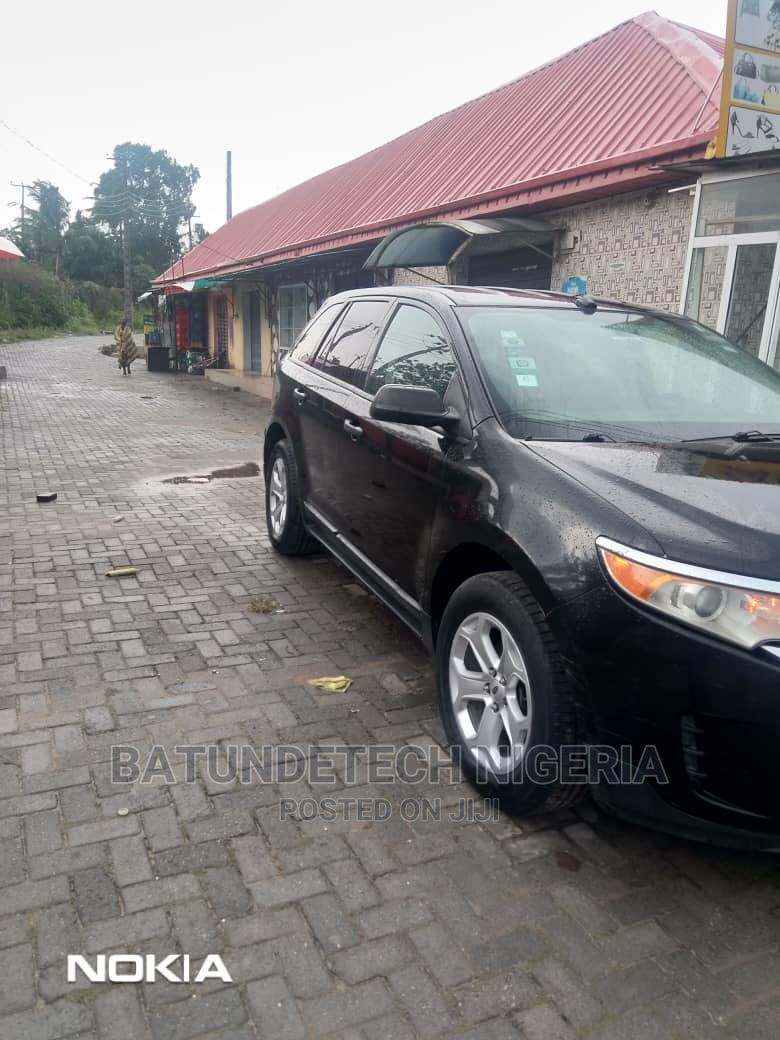 Ford Edge 2013 SE 4dr FWD (3.5L 6cyl 6A) Black | Cars for sale in Ikeja, Lagos State, Nigeria