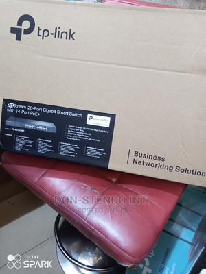 Tplink Jetstream 28port Gigabit Smart Switch+ 24port Poe | Networking Products for sale in Lagos State, Ikeja