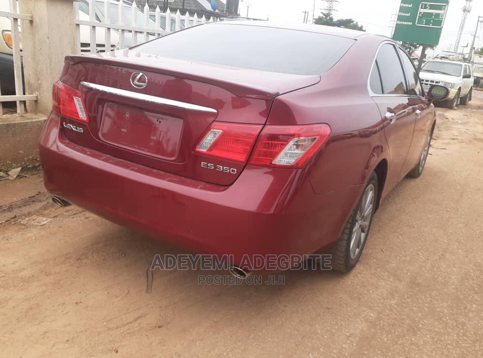 Lexus ES 2009 350 Red   Cars for sale in Alimosho, Lagos State, Nigeria