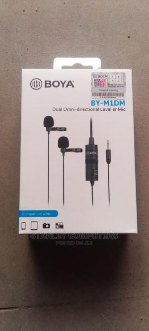 Boya By-midm Dual Omni-directional Lavalier Mic | Audio & Music Equipment for sale in Lagos State, Ikeja