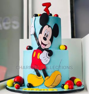 Blue Mickey Birthday Cake | Party, Catering & Event Services for sale in Lagos State, Agboyi/Ketu