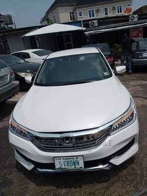 Honda Accord 2017 White   Cars for sale in Lagos State, Ikeja