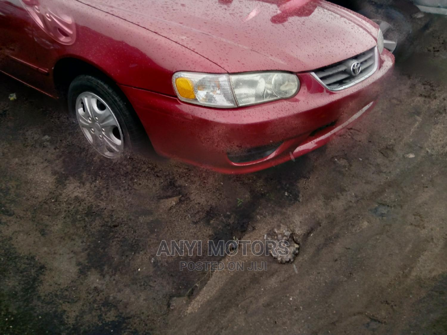 Archive: Toyota Corolla 2001 Hatchback Red