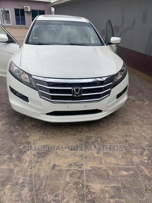 Honda Accord CrossTour 2010 EX-L AWD White | Cars for sale in Lagos State, Alimosho