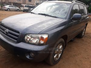 Toyota Highlander 2004 Limited V6 FWD Blue   Cars for sale in Lagos State, Ipaja