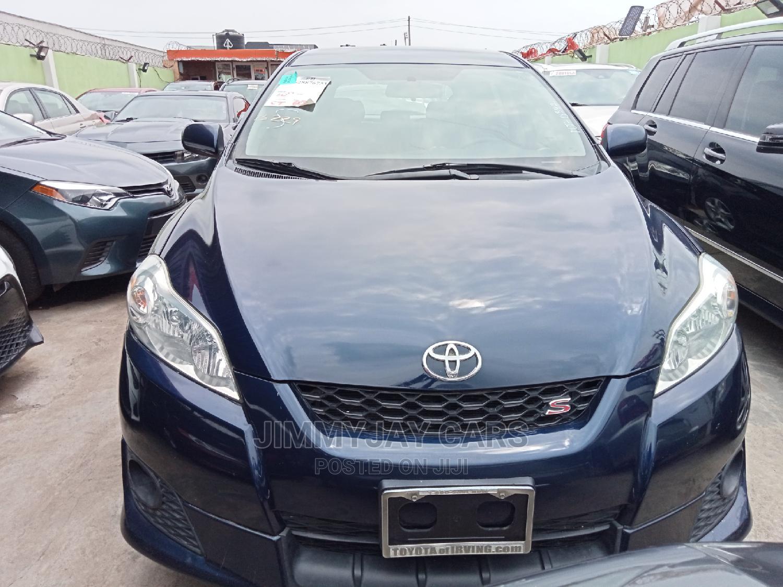 Toyota Matrix 2009 Blue