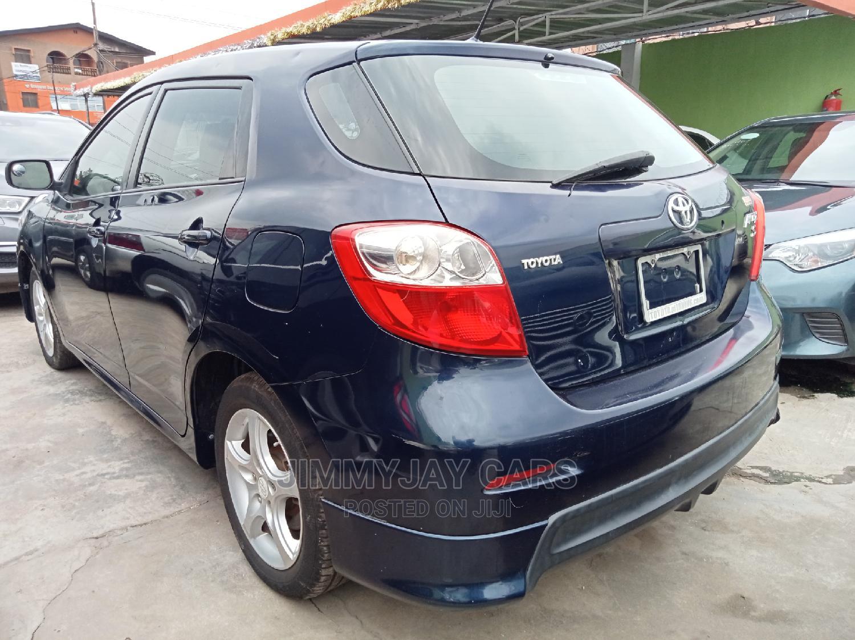 Toyota Matrix 2009 Blue | Cars for sale in Ikeja, Lagos State, Nigeria