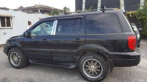 Honda Pilot 2005 EX 4x4 (3.5L 6cyl 5A) Black | Cars for sale in Lagos State, Surulere