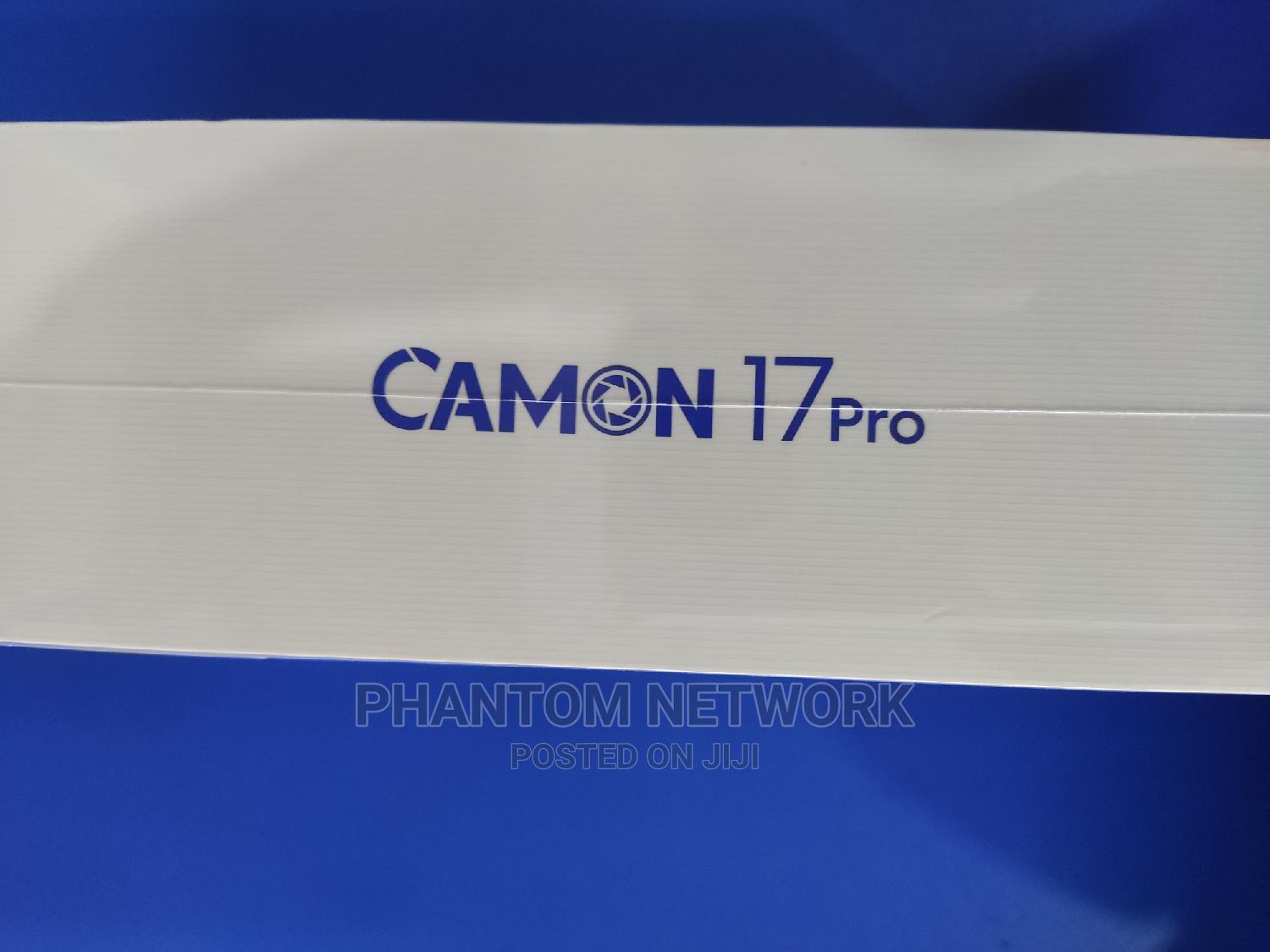 New Tecno Camon 17 Pro 256 GB Blue | Mobile Phones for sale in Wuse 2, Abuja (FCT) State, Nigeria