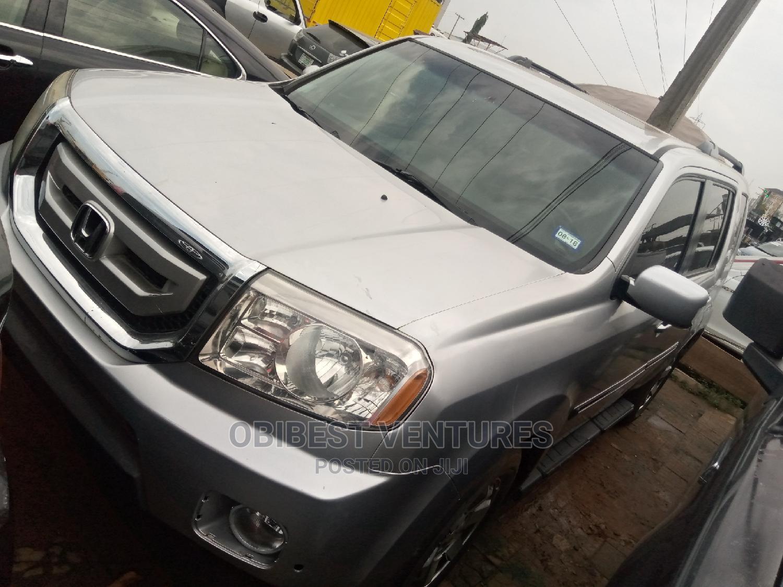 Honda Pilot 2012 Silver   Cars for sale in Isolo, Lagos State, Nigeria