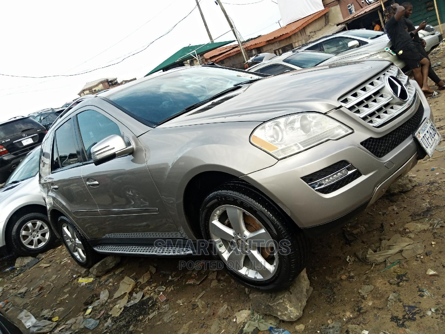 Mercedes-Benz M Class 2011 ML 350 4Matic Gray | Cars for sale in Apapa, Lagos State, Nigeria