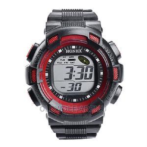Digital Waterproof Watch- Red | Watches for sale in Lagos State, Lekki