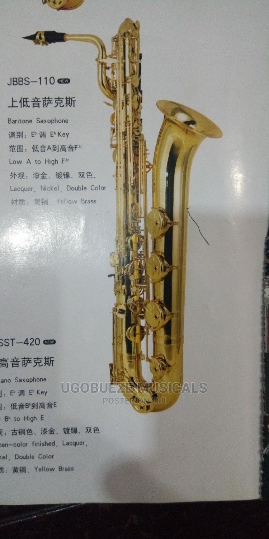 E Flat Barritone Saxophone