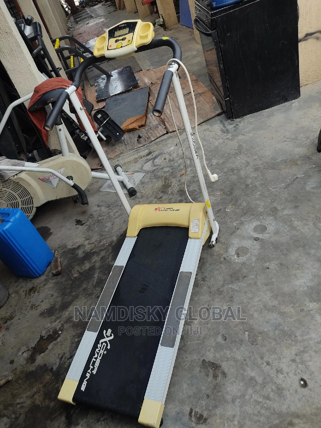 Archive: Excider Treadmill