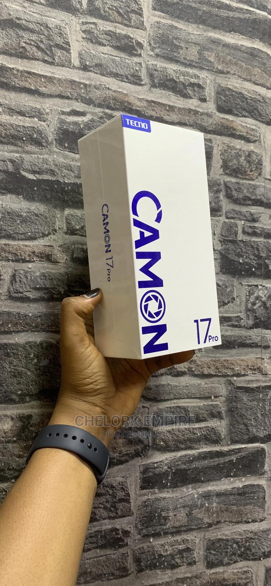 New Tecno Camon 17 Pro 256 GB Blue   Mobile Phones for sale in Ikeja, Lagos State, Nigeria