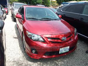 Toyota Corolla 2012 Red   Cars for sale in Abuja (FCT) State, Garki 1