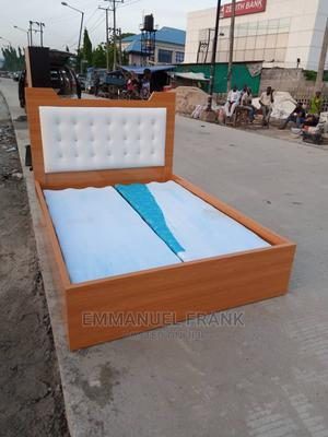 4 and Half by 6 Bed Frame With Underneath Drawer   Furniture for sale in Lagos State, Oshodi