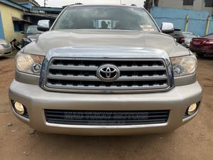 Toyota Sequoia 2008 Gold | Cars for sale in Lagos State, Ikeja