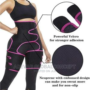 Body Shaper 3-In-1 Waist Trainer Butt Lifter Weight Loss   Clothing Accessories for sale in Lagos State, Ikeja