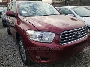 Toyota Highlander 2009 Sport 4x4 Red | Cars for sale in Lagos State, Ikeja