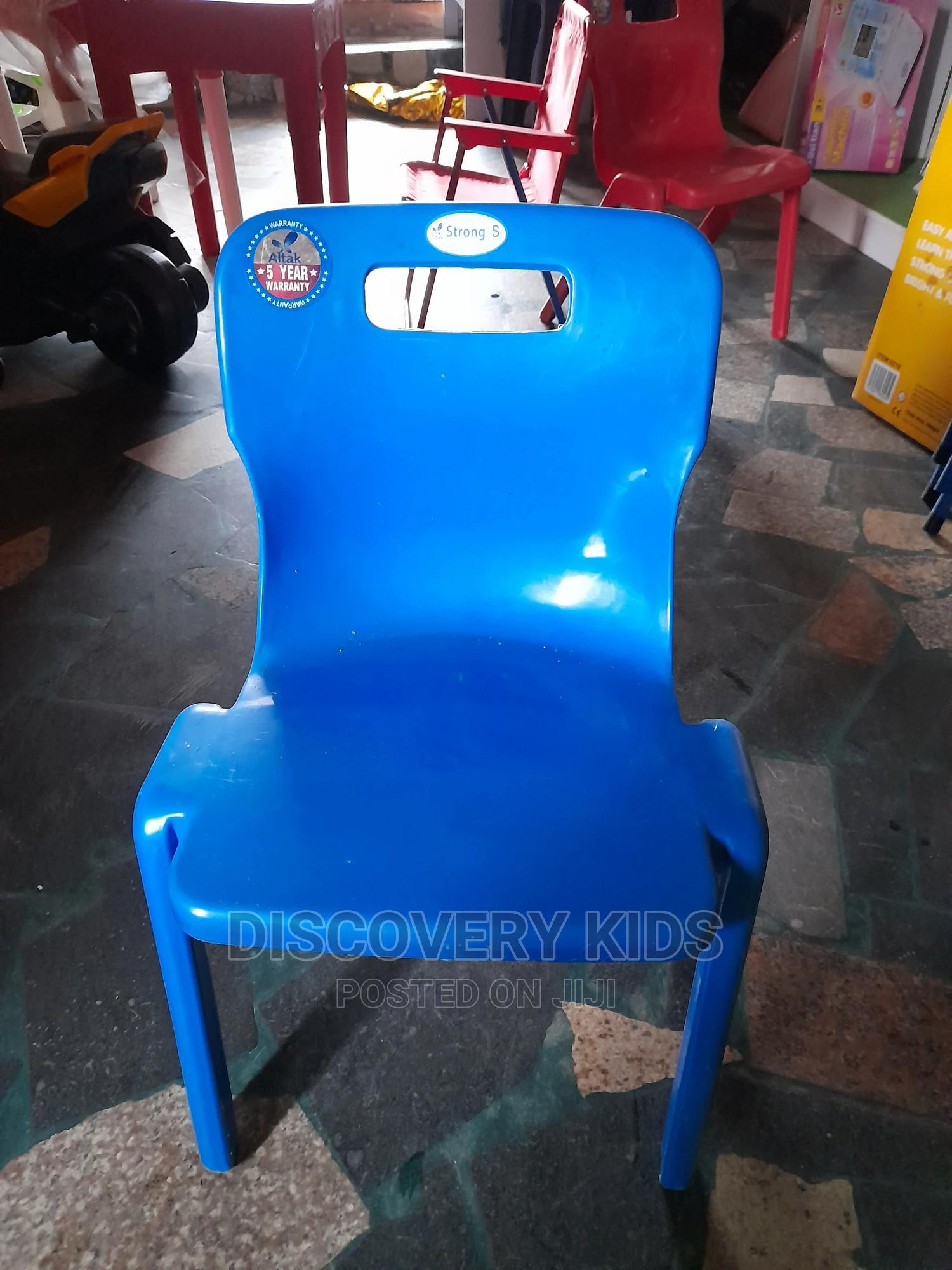 Archive: Blue Plastic Chair for Kids Imported