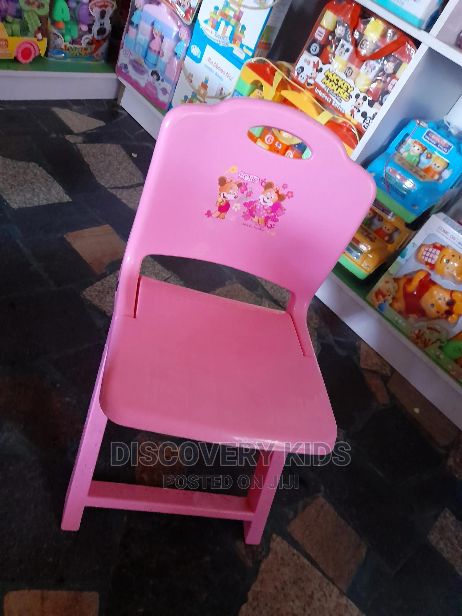Archive: Pink Foldable Plastic Chair for Kids