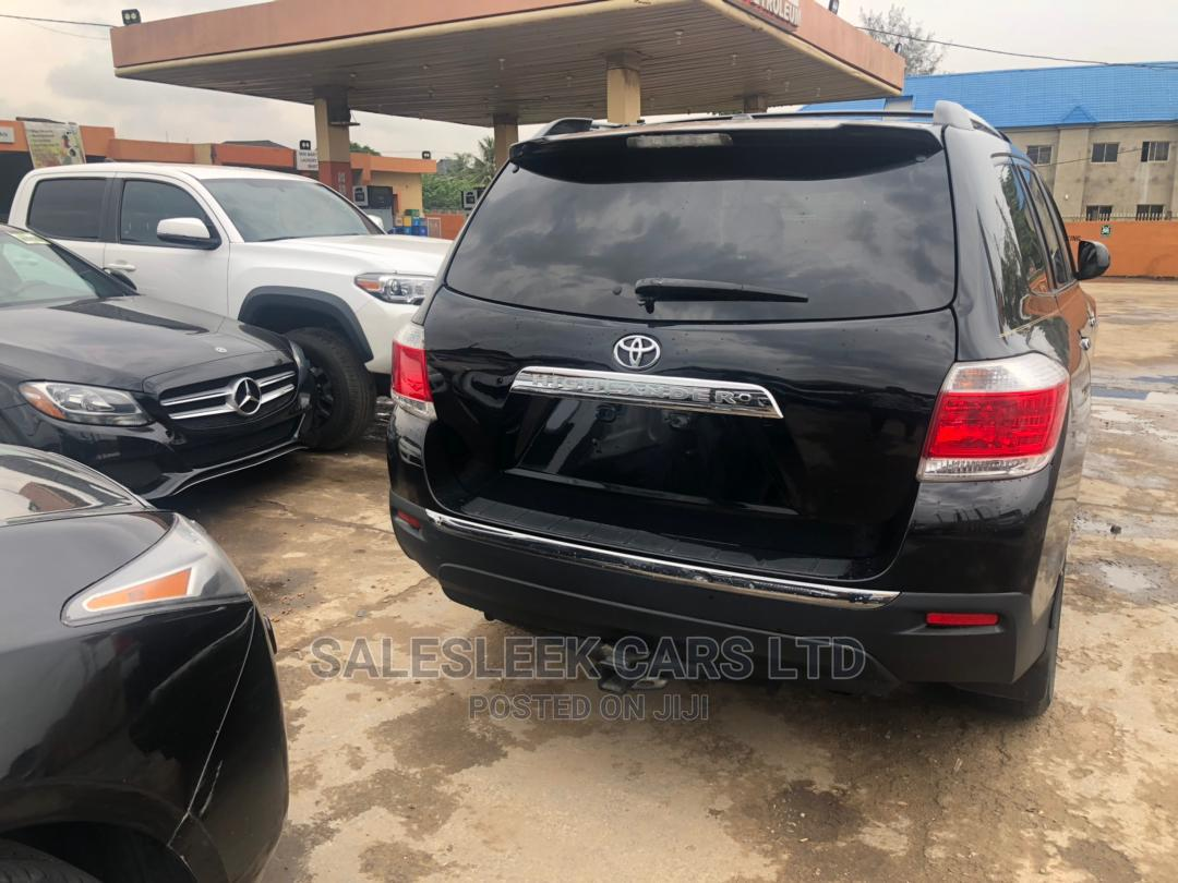 Toyota Highlander 2012 Limited Black | Cars for sale in Isolo, Lagos State, Nigeria